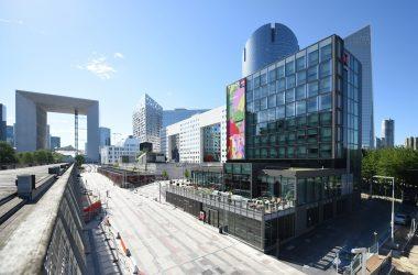 CitizenM, le nouvel hôtel derrière l'Arche de La Défense