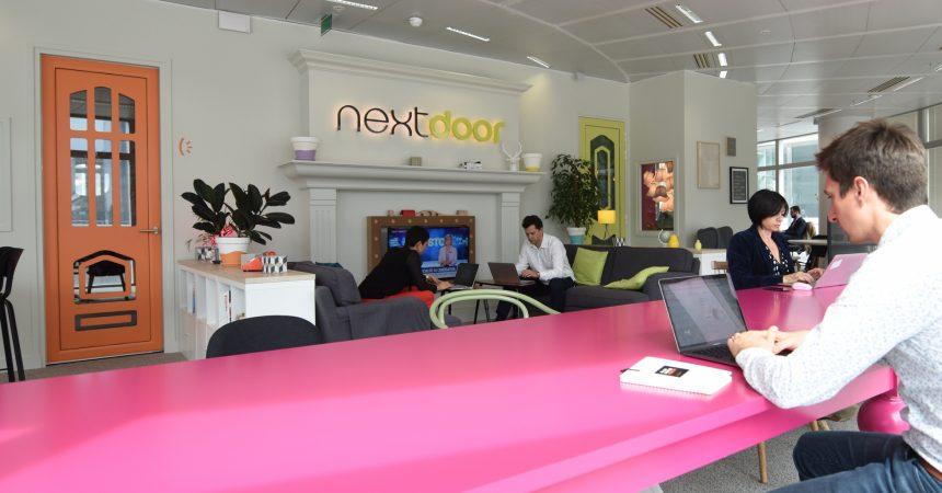 Maintenant on peut venir travailler chez Nextdoor pour une journée