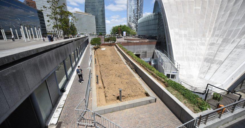 La Défense va s'offrir un second jardin partagé près du Cnit