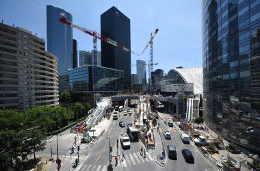 Chantier de la tour Trinity : l'accès au tunnel de La Défense fermé  pour une semaine