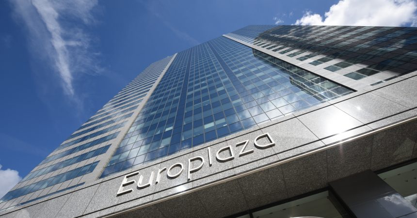 La tour Europlaza affiche un taux d'occupation de 84 %