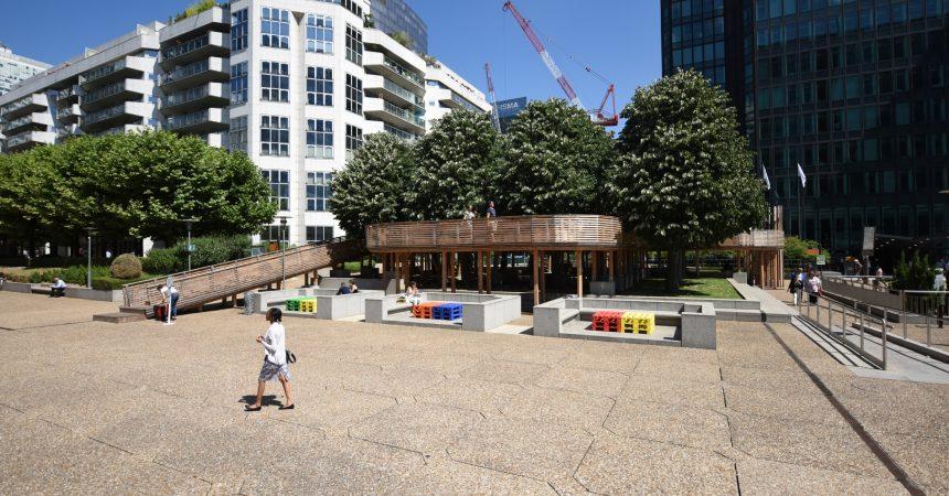 La Défense conserve deux mobiliers issus de la dernière biennale