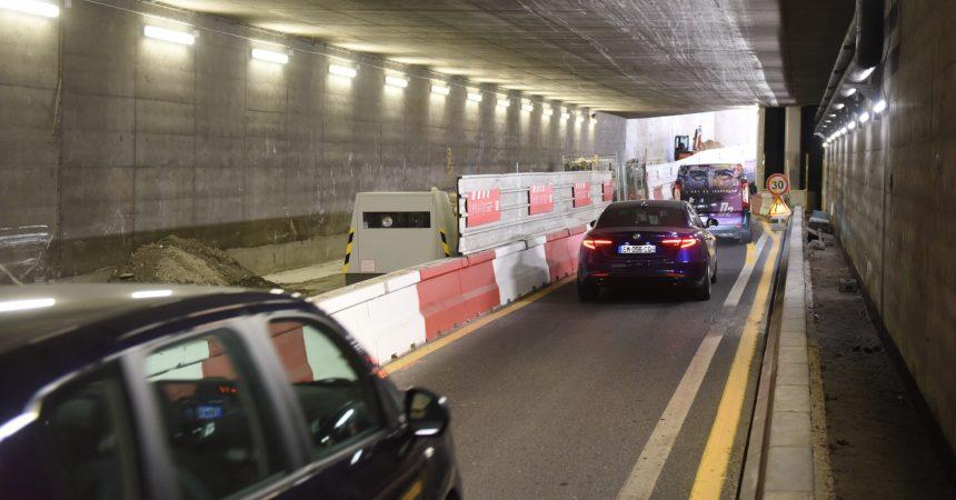 Un radar autonome dans un tunnel de La Défense