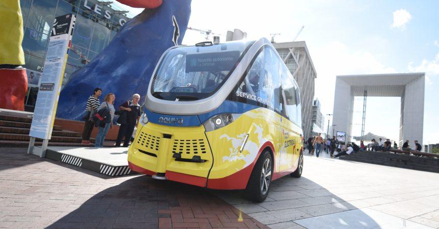Les navettes autonomes de La Défense ont déjà attiré plus de 10 000 voyageurs