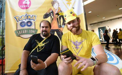 Pokemon Go : quand les joueurs transforment les 4 Temps en safari géant