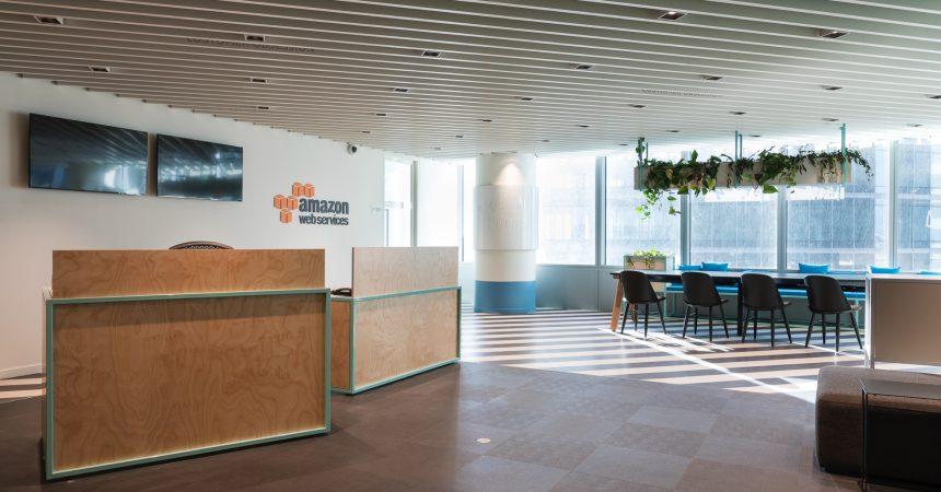 Amazon Web Services s'offre des bureaux design dans la tour Carpe Diem