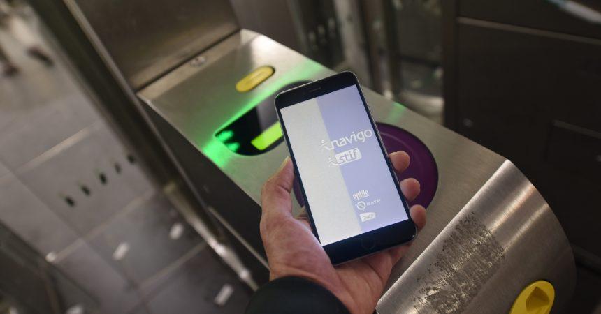Le smartphonne va remplacer le pass Navigo