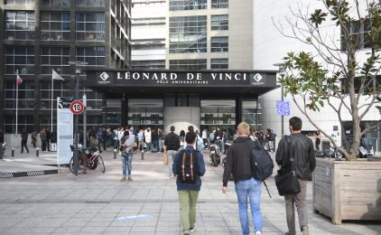 Une conférence sur les écosystèmes et l'innovation, au pôle Léonard de Vinci