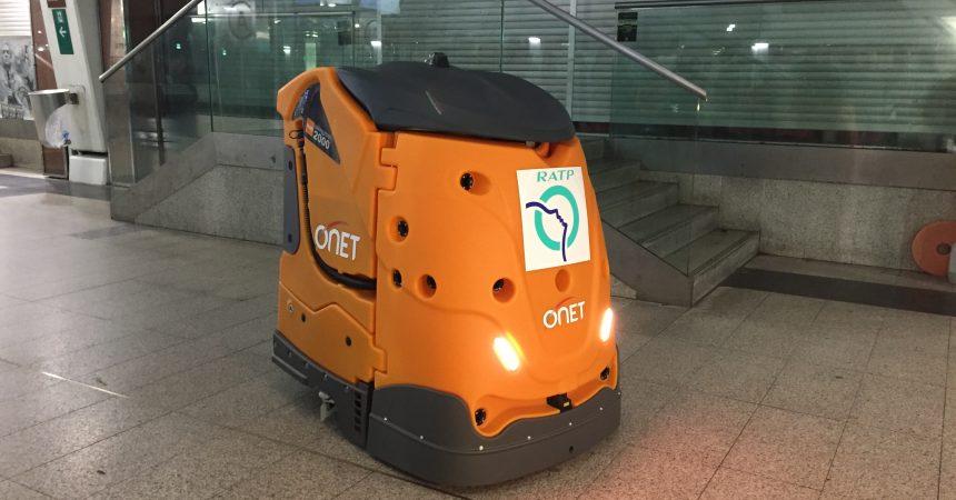Quand la Ratp expérimente un robot pour nettoyer la gare de La Défense