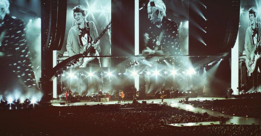 Les Rolling Stones lancent en beauté la U Arena