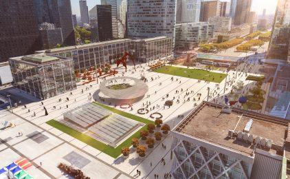 La place de La Défense va s'offrir un grand lifting