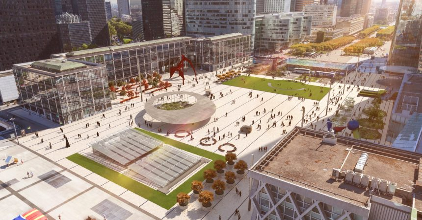 La place de La Défense va s'offrir un grand lifting