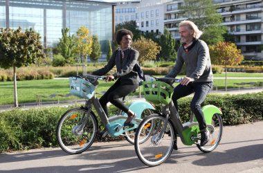 En 2018 les nouveaux Vélib' arrivent à Courbevoie