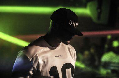 Le rappeur Booba en concert à la U Arena en 2018