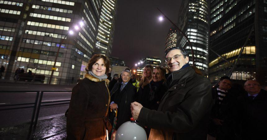Le boulevard circulaire de La Défense quitte enfin la pénombre