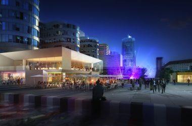 Coups d'envoi des projets «Table Square» et «Oxygen» à La Défense