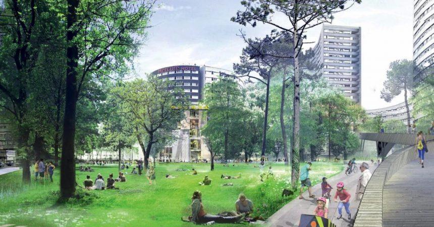 Courbevoie réinvente le parc Freudenstadt