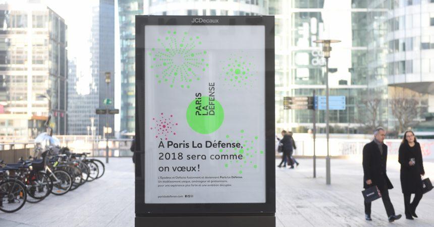 Paris La Défense s'offre un logo vert flashy