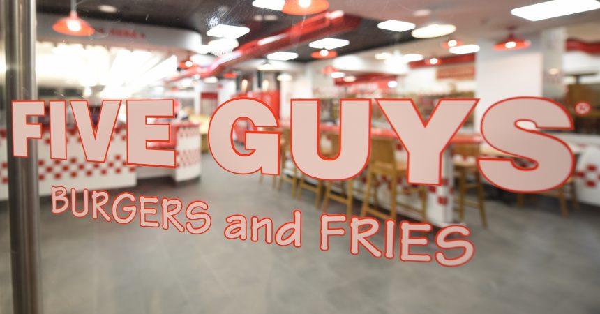 Five Guys débarque en Belgique avec ses hamburgers