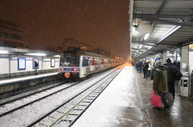 Chutes de neige : de grosses perturbations dans les transports en commun ce mercredi matin