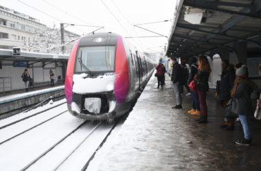 Quelques perturbations persistent sur le Transilien après les chutes de neige