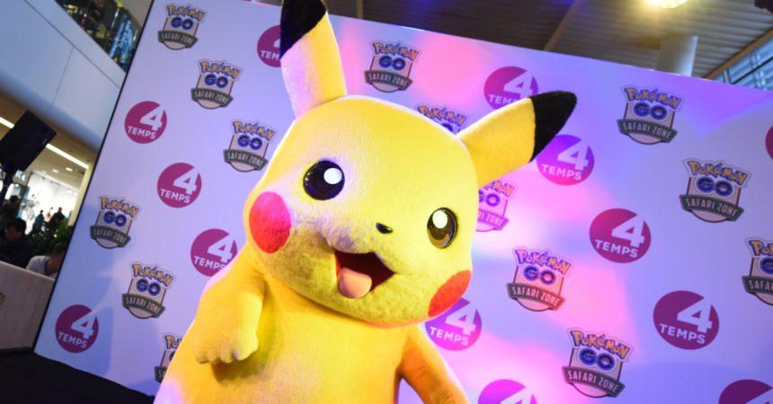 La chasse aux Pokemon revient samedi aux 4 Temps