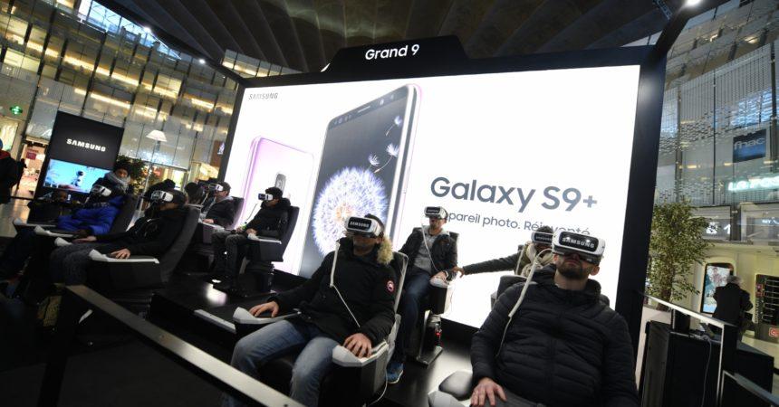 Les nouveaux Galaxy S9 de Samsung en guest star au Cnit