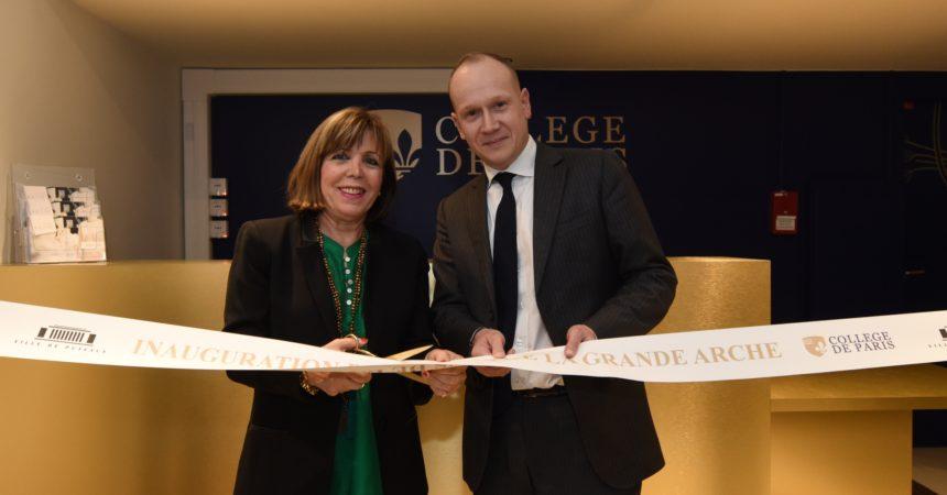 Le Collège de Paris inaugure son campus à la Grande Arche