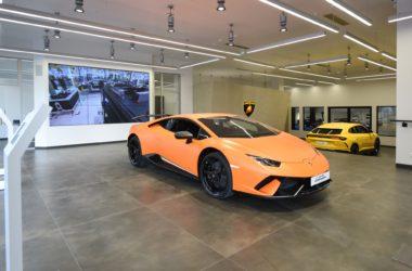 La luxueuse marque italienne Lamborghini ouvre un showroom à La Défense