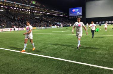 Les joueurs du Racing 92 affichent leur soutien au département des Hauts-de-Seine menacé de suppression