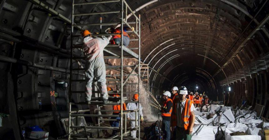 Fuite d'eau sur le RER A : la réparation définitive devrait intervenir cet été