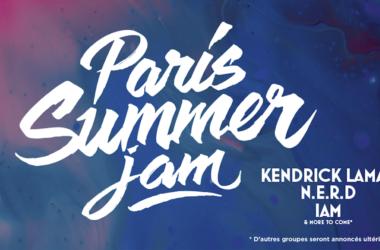 Kendrick Lamar, N.E.R.D et IAM en tête d'affiche du Paris Summer Jam à la U Arena