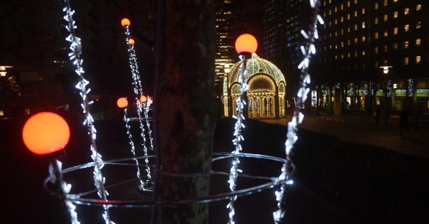 Paris La Défense pense déjà à Noël