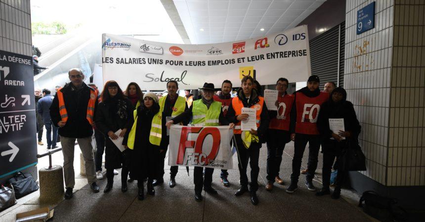 AGO de SoLocal à La Défense : les Pages Jaunes broient du noir