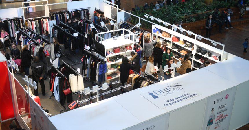 En mars, le vide-dressing de Dress in the City est de retour aux 4 Temps