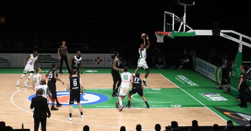 Basket : dans une U Arena remplie de 15 220 spectateurs, Nanterre a battu sur le fil l'Asvel