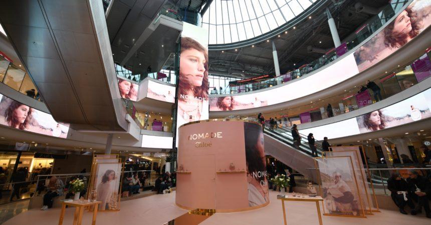 Nomade, le nouveau parfum de Chloé en guest-star aux 4 Temps