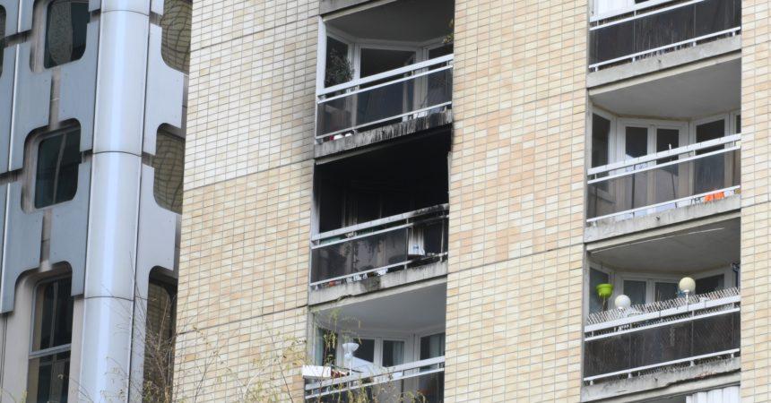 Un incendie détruit un appartement de la résidence des Platanes