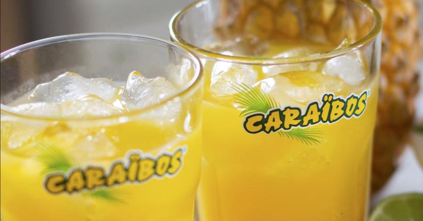Les jus de Caraïbos s'invitent aux 4 Temps