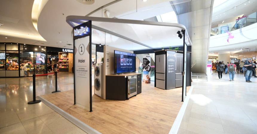 Haier installe son showroom aux 4 Temps