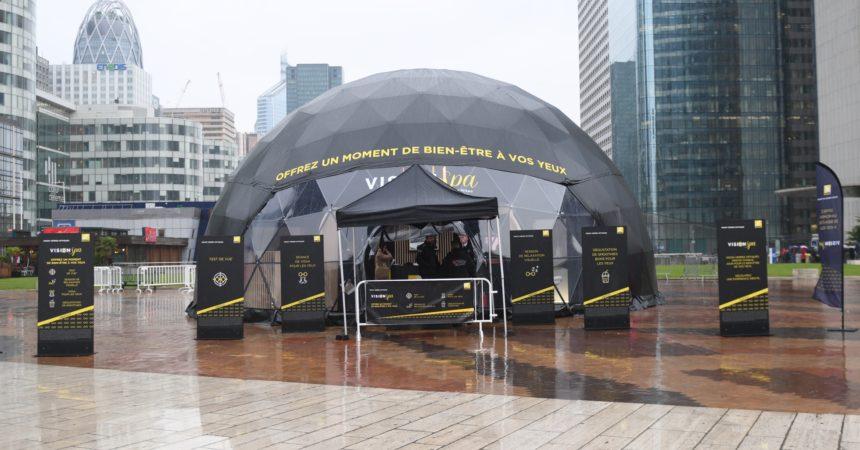 Nikon installe «Vision Spa», une bulle de bien-être dédiée à vos yeux
