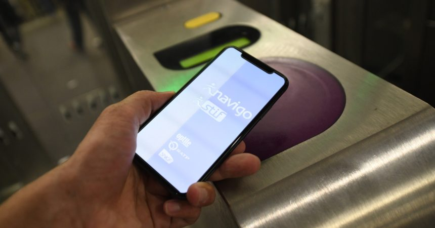 Le Pass Navigo testé sur les smartphones dès cet automne