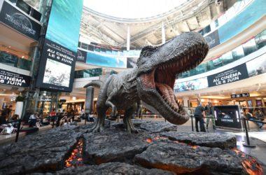 Jurassic World 2 : un T-Rex géant s'introduit aux 4 Temps