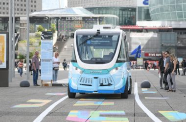 Les navettes autonomes reprennent du service à La Défense