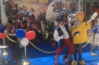Europa-Park vient vous présenter ses nouveautés aux 4 Temps