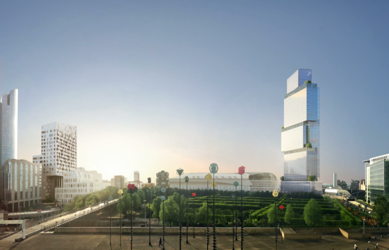 Un mois pour donner son avis sur le projet de la Tour des Jardins de l'Arche