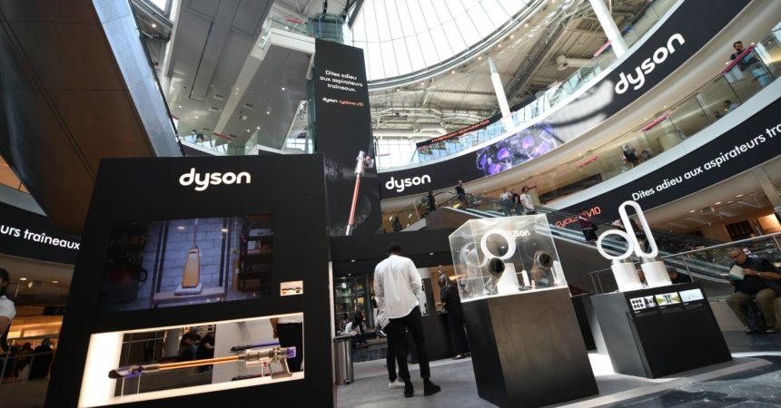 Les aspirateurs de Dyson à découvrir toute la semaine aux 4 Temps