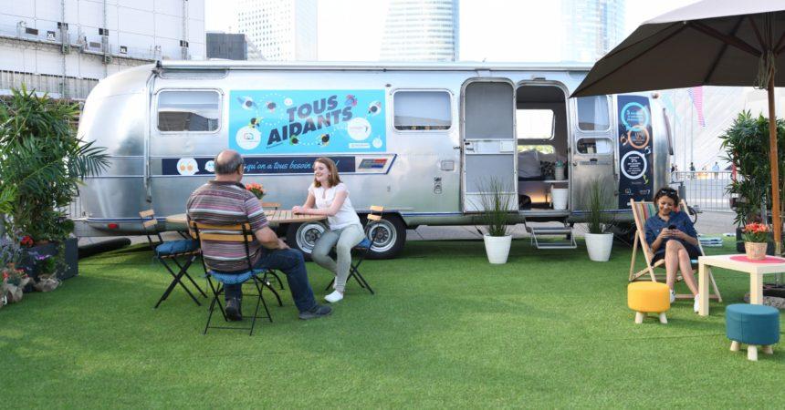 Une caravane pour aller à la rencontre des aidants actifs
