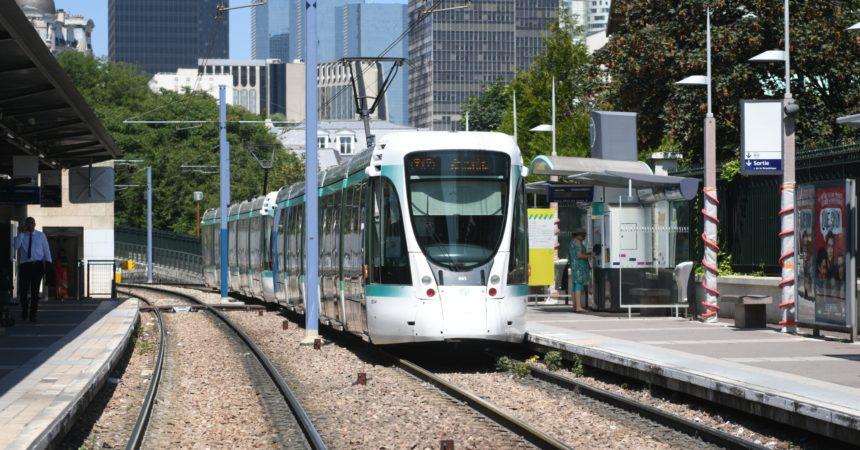 Le tramway T2 s'interrompt pendant 18 jours entre La Défense et le Parc de Saint-Cloud