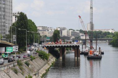 L'évacuation des terres d'Eole se fera par la Seine